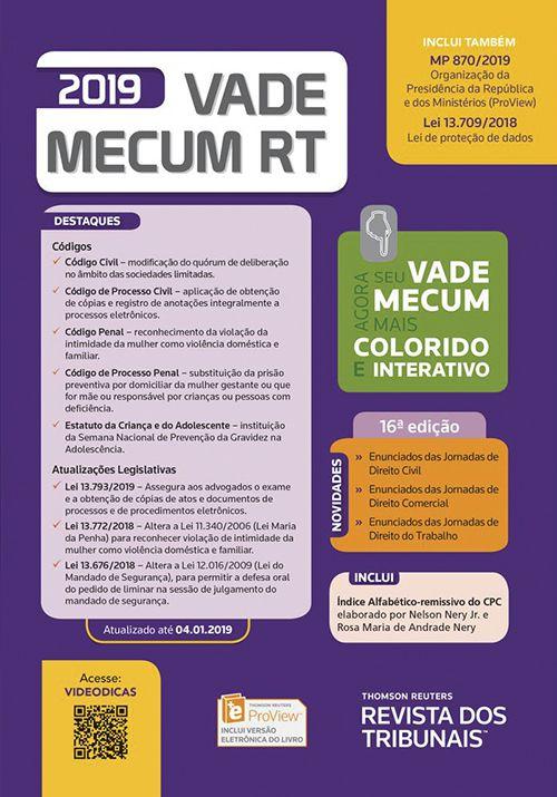 Vade Mecum RT 2019 - 16ª Ed.