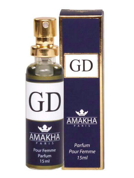 12e82361f K/05 - Perfume Feminino GD 15ml - Eau de Parfum - Amakha Paris -  Jadjbrother Cosméticos