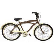 Bicicleta Aro 26 Caiçara Beach Wendy Bike Retro + Cesto