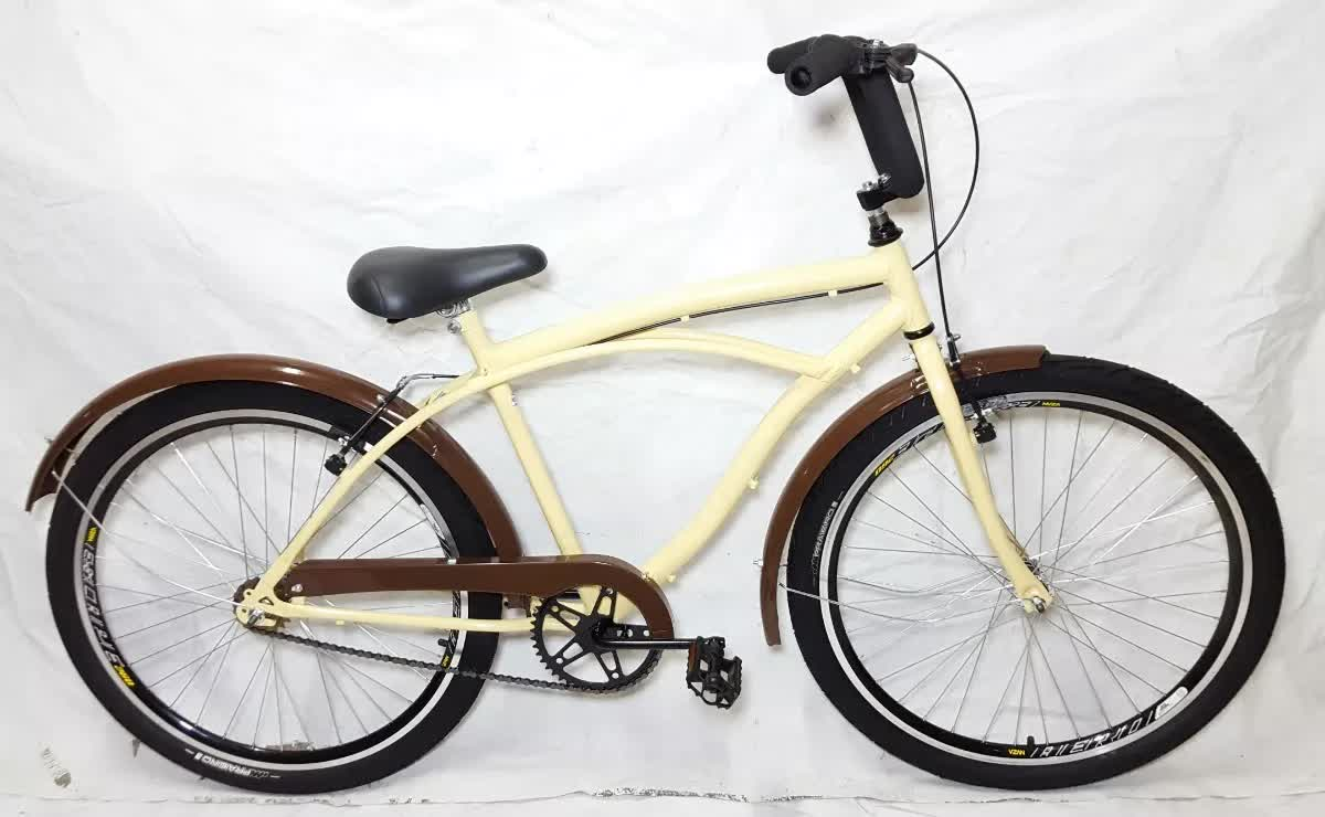 Bicicleta Aro 26 Caiçara Beach Wendy Bike Vintage Retro