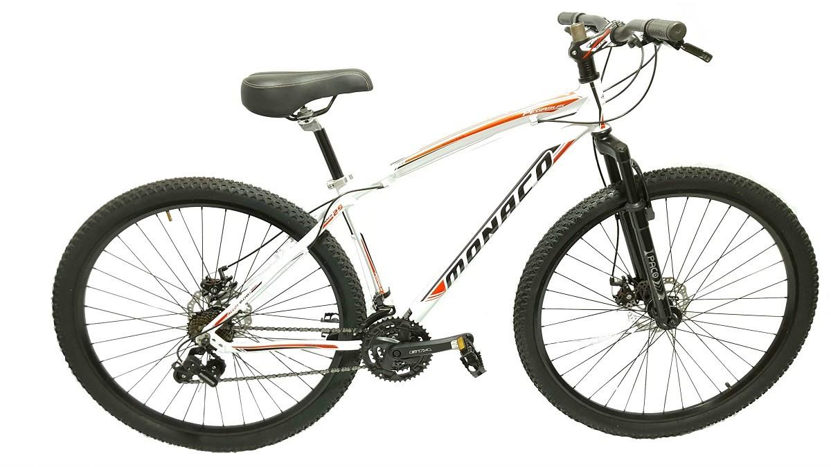 Bicicleta Aro 29 Monâco Freio A Disco Cambios Shimano