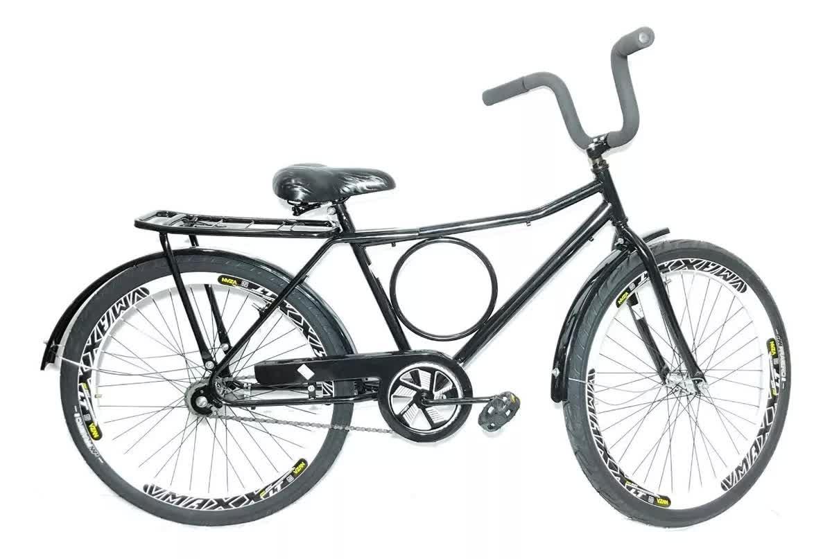 Bike Aro 26 Barra Forte Roda Vmax Contra Pedal Retro