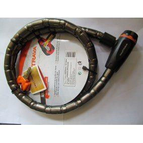 Cadeado Trava Espiral Max200 Corrente Moto, Estepe