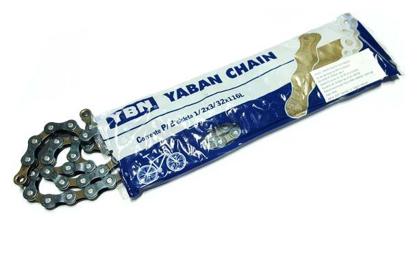Corrente Ybn Yaban 116 Elos 6/7/8 Velocidades C/ Power Link