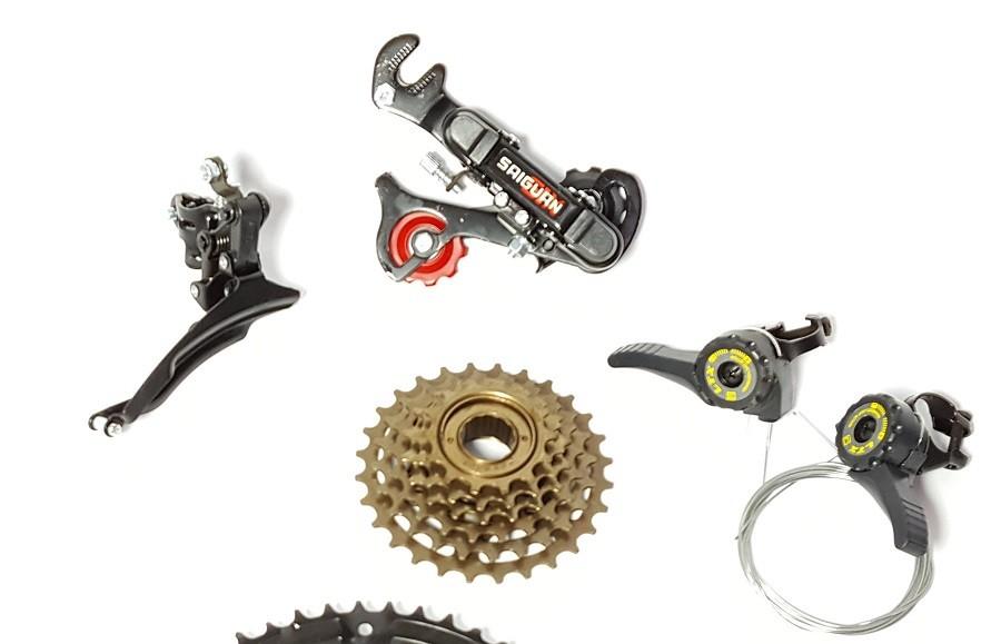 Kit 18 Marchas Bicicleta Completo 18v Ltx Bike