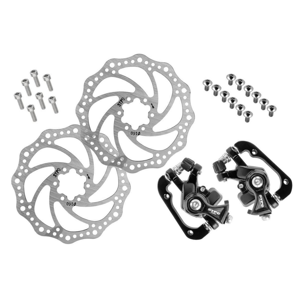 Kit Freio A Disco Sypo/GTA Mecanico C/ Rotores