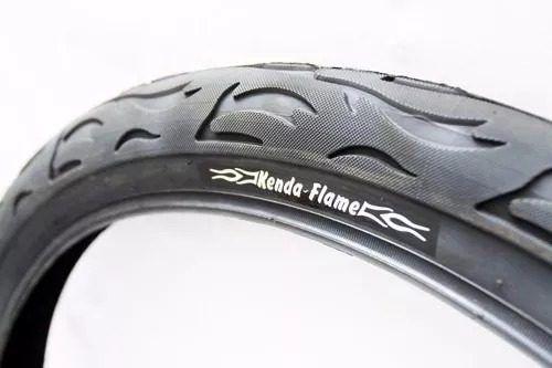 Par De Pneu Kenda Flame Aro 26 X2.125 Original Bike + Câmara
