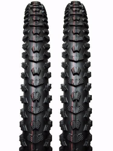 Par Pneu Excess Aro 26 X 1.95 Levorin Mtb Bike Trilha Cravo