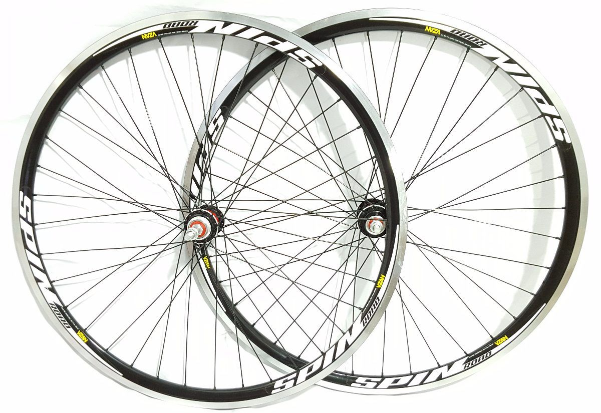 Par Rodas Bike Speed Aro 700 Vzan Spin Com Rolamento