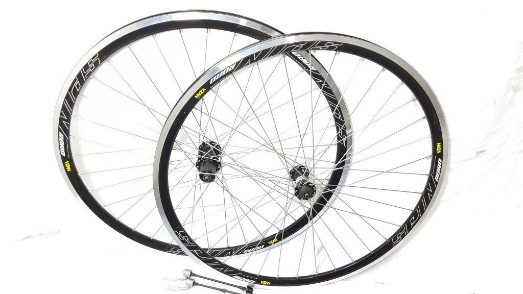 Rodas Bike Speed Aro 700 Vzan Spin Cassete K7 8/9v Shimano
