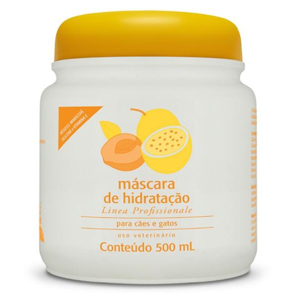 Máscara de Hidratação Pêssego e Maracujá - Amici 500ml
