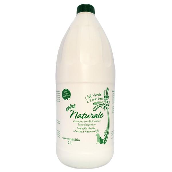 Shampoo Condicionador Chá Verde e Erva Doce - Amici Naturale 2L