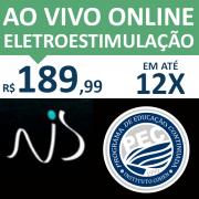 Ao Vivo Online - ESTIMULAÇÃO ELÉTRICA NEUROMUSCULAR NA REABILITAÇÃO E PERFORMANCE - Prof. Ms. Natanael Sousa - DESCONTO