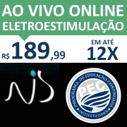 Ao Vivo Online - ESTIMULAÇÃO ELÉTRICA NEUROMUSCULAR NA REABILITAÇÃO E PERFORMANCE - Prof. Ms. Natanael Sousa