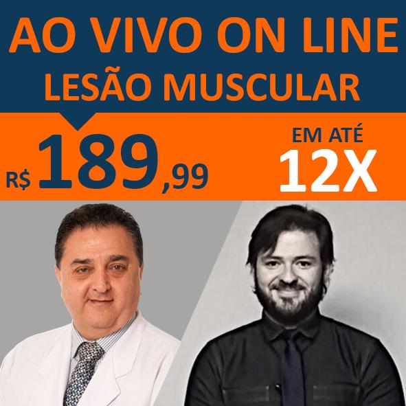 Curso Lesões Musculares - Interação: Ao Vivo On Line