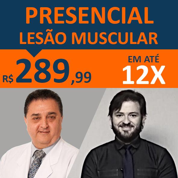 Curso Lesões Musculares - Interação: Presencial