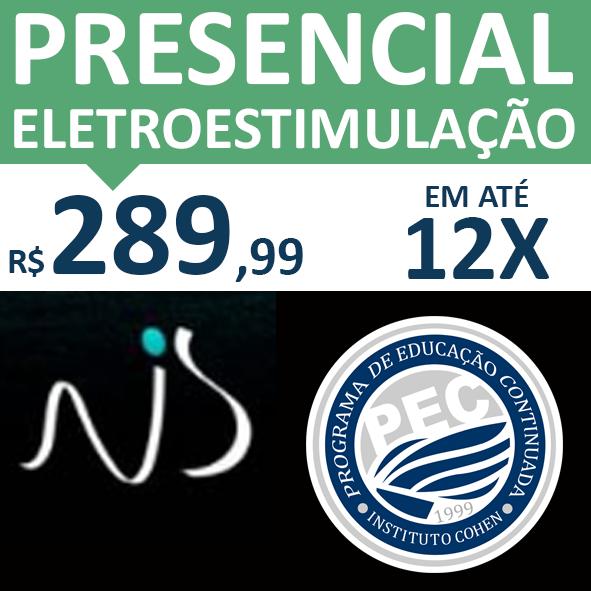 Presencial - ESTIMULAÇÃO ELÉTRICA NEUROMUSCULAR NA REABILITAÇÃO E PERFORMANCE - Prof. Ms. Natanael Sousa