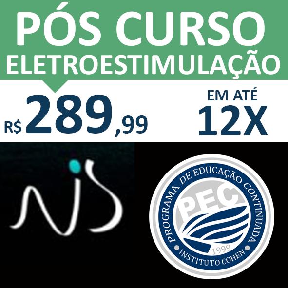 Pós Curso - ESTIMULAÇÃO ELÉTRICA NEUROMUSCULAR NA REABILITAÇÃO E PERFORMANCE - Prof. Ms. Natanael Sousa