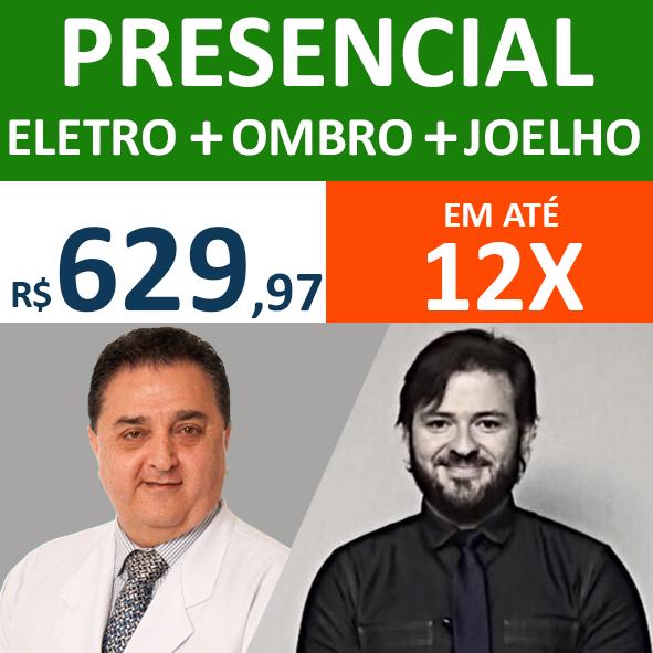 Presencial - Eletro + Ombro + Joelho