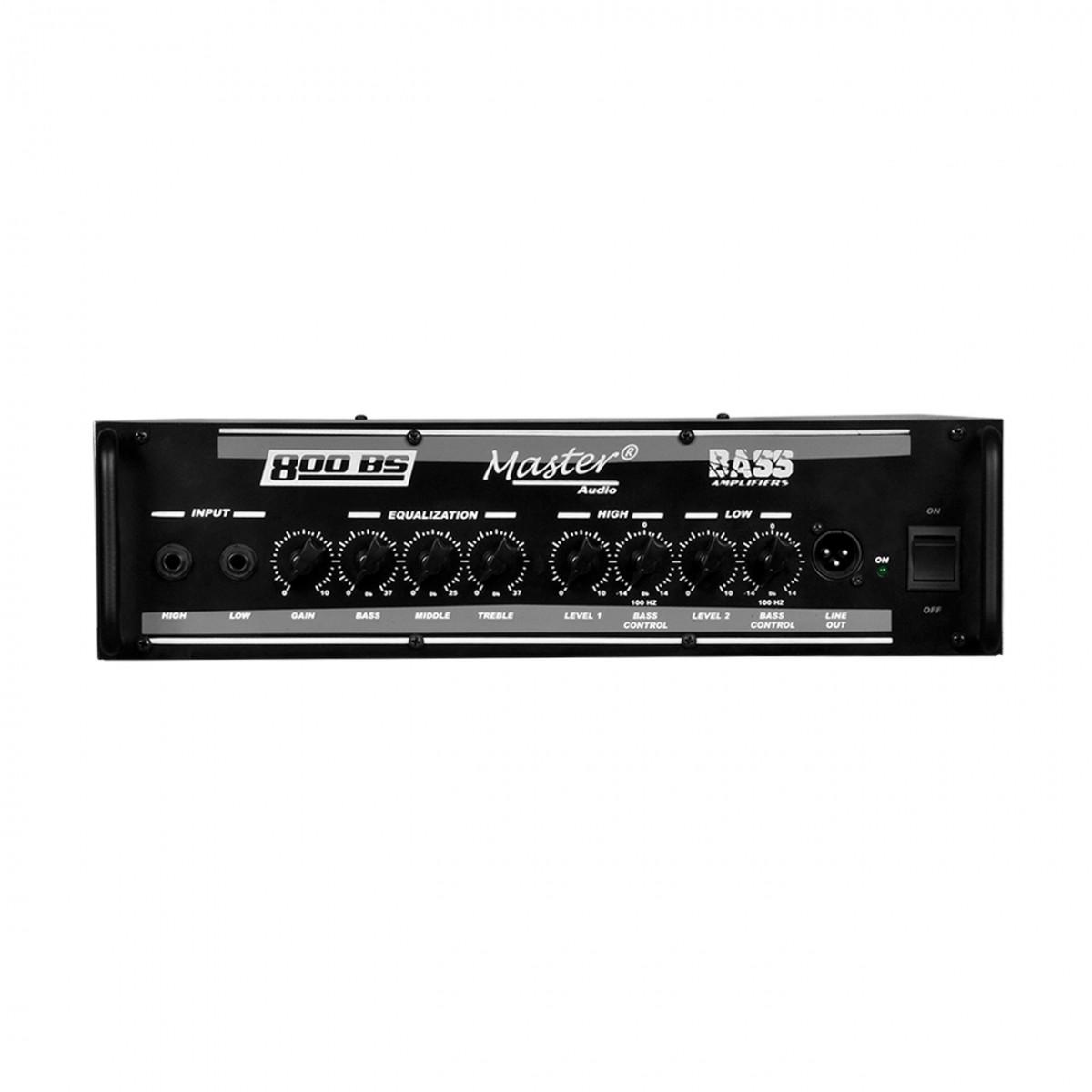 Cabeçote Master Áudio 800BS Contra-Baixo