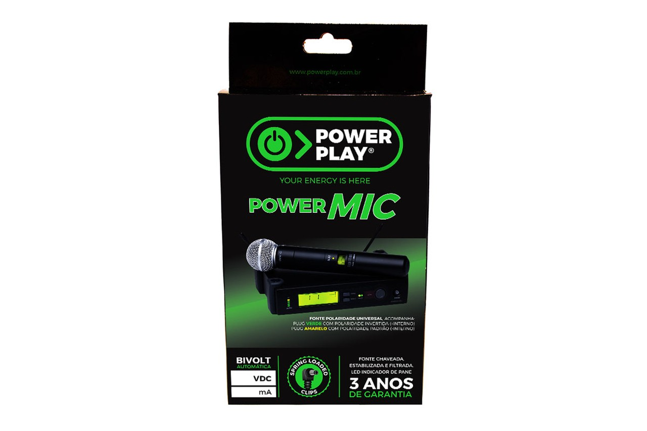 Fonte Power Play Power MIC