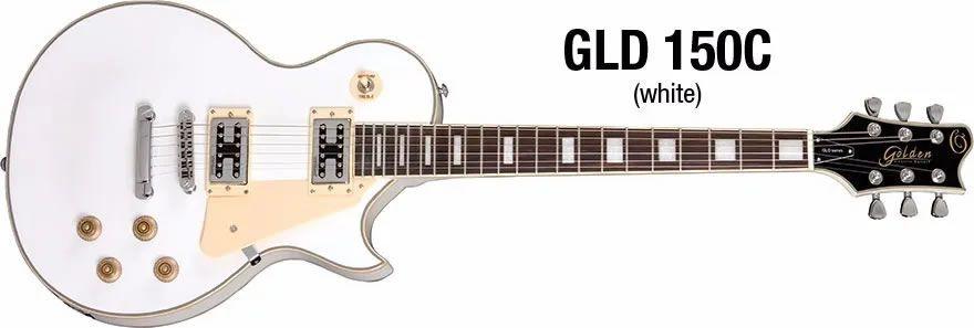 Guitarra Golden LP Gld150c White