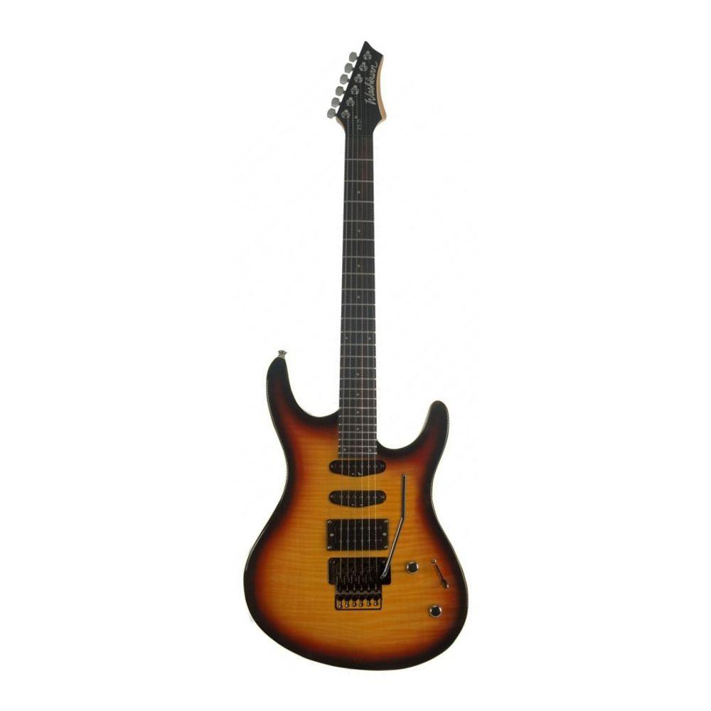 Guitarra Washburn RX25 Tobacco Sunburst com Floyd Rose