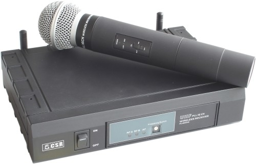 Microfone CSR-816 sem fio