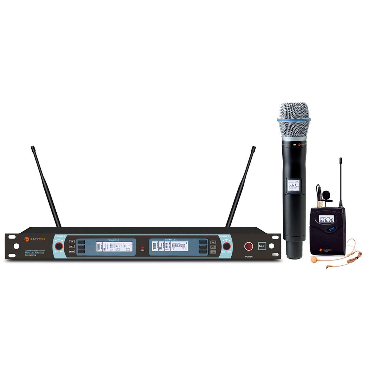 Microfone S/fio Kadosh K-882C