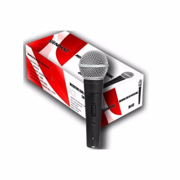 Microfone Sound Voice  SM-58S