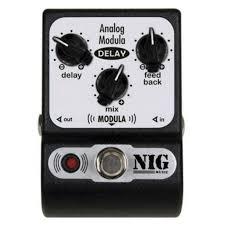 Pedal Analog Delay Modula Nig