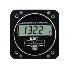 ELECTRONICS INTERNATIONAL E-6 MONITOR DE EGT 6 CILINDROS