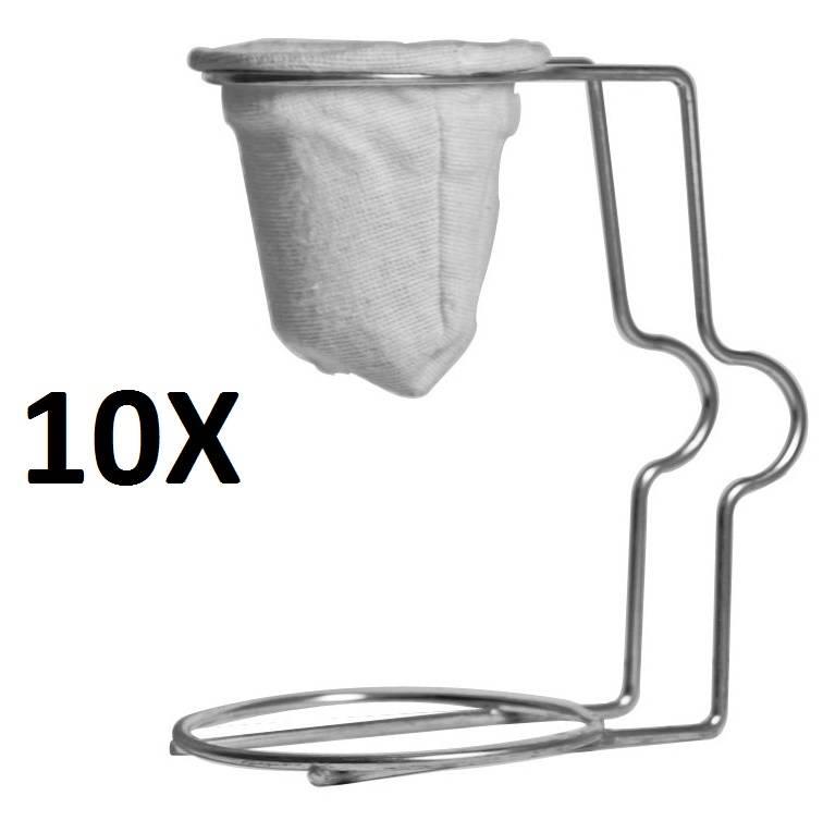 10 X Mini Coador Facile n. 1