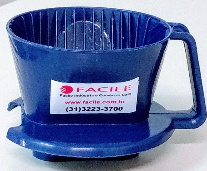 Suporte Plástico Pequeno para Coar Café - Nº 101- Azul