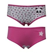 Calcinha Kids Cotton com Bordado You Lingerie
