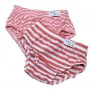 Calcinha Baby Listras kit c/02 unidades