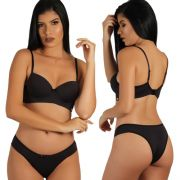 Conjunto Soutien de Base e Lateral Dupla You Lingerie
