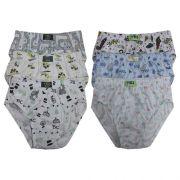 Slip Kids Pv Estampado c/06 Gell Underwear