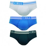 Slip Personalizada Algodão c/03 Gell Underwear
