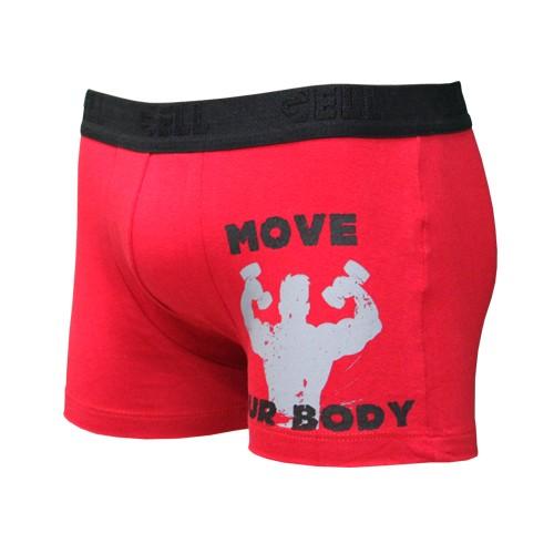 Boxer Cotton com Silk Gell Underwear
