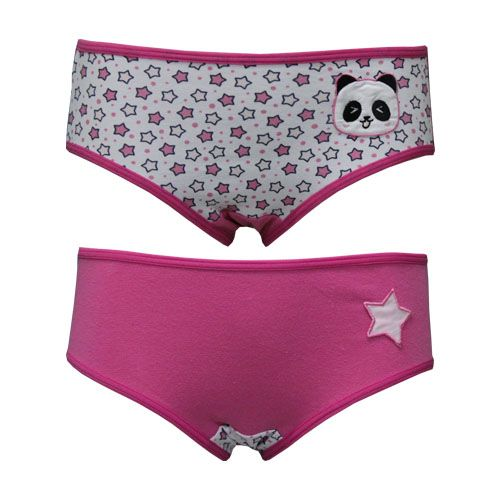 61b27eb22 Calcinha Kids Cotton com Bordado You Lingerie