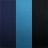marinho/turquesa/preto