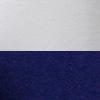 Branco/Azul marinho