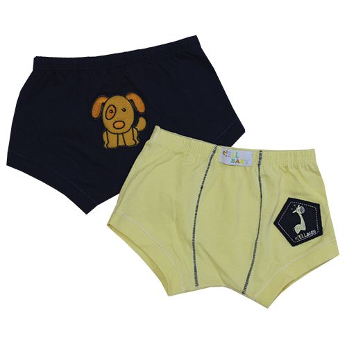 Sunga Baby Cotton Com Bordado C/2 Gell Underwear