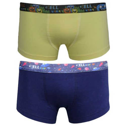 Sunga Kids Cotton El. Sublimado C/2 Gell Underwear