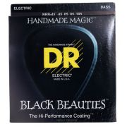 ENCORDOAMENTO BAIXO 4 ENCORDOAMENTOS BLACK BEAUTIES BKB-45 - DR STRINGS