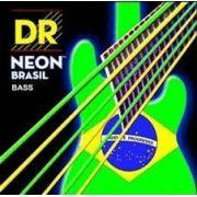 ENCORDOAMENTO BAIXO 4 CORDAS Hi-Def NEON BRAZIL NBRB-40 - DR STRINGS