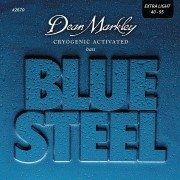ENCORDOAMENTO CONTRA BAIXO BLUE STEEL EXTRA LIGHT 4 CORDAS 40-95 2670 - DEAN MARKLEY