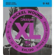 ENCORDOAMENTO GUITARRA 009 EXL120 - DADDARIO