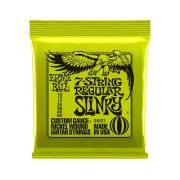 ENCORDOAMENTO GUITARRA 7 CORDAS REGULAR SLINKY 010.056 2621 - ERNIE BALL